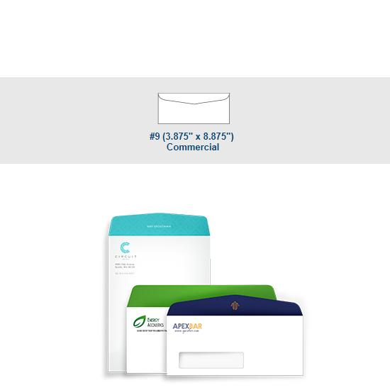 [Image: Full Color  #9 Commercial Envelope - Custom Printed with Return Address]